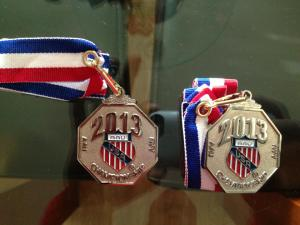 Medals awarded to ESYC Elite 11u