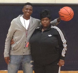 Talek Williams and Mom