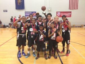 Congratulations to the 6th Grade Champions, KTB (Kids That Ball)