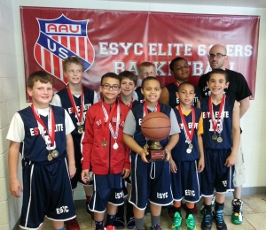 Congratulations to the 4th Grade Champions,  ESYC Elite