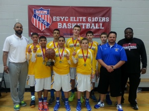 Congratulations to the 7th Grade Champions,  Integrity Sports